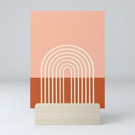 Terracota Pastel Mini Art Print