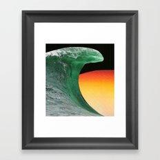 colagem 3 Framed Art Print