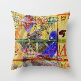 ART HISTORY SERIES: PELAN ALTARPIECE (POLYPTYCH) Throw Pillow