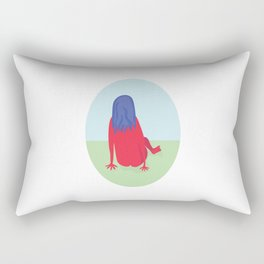 Day in the Park Rectangular Pillow
