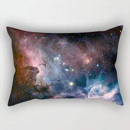 Watecolour Galaxy Rectangular Pillow