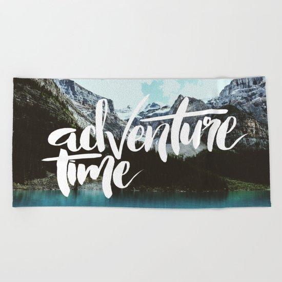 Adventure Time Beach Towel