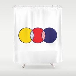LICHTVENNSTEIN Shower Curtain