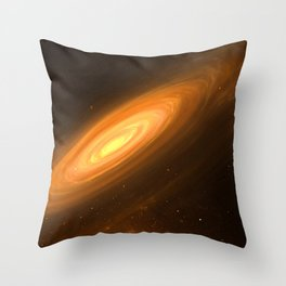 Love to travel Space Throw Pillow