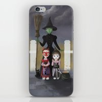 coven iPhone & iPod Skins featuring Coven by Rustic robin designs