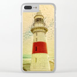 Low Head Lighthouse Clear iPhone Case