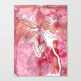 Lovely Lilly Canvas Print