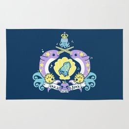 inki-Jinx Coat of Arms Rug