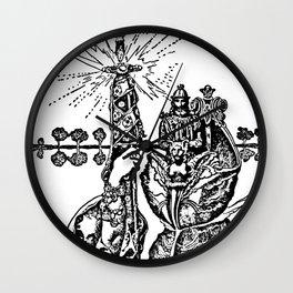 Excalibur the Sword Wall Clock