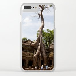 Ancient trees and Ancient Stories Clear iPhone Case