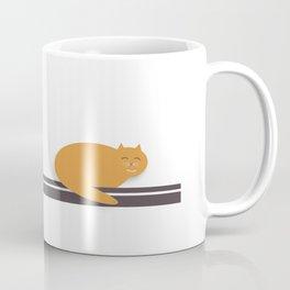 Happy Cat Nap Coffee Mug