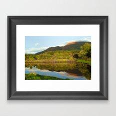 Reflections on Loch Etive Framed Art Print