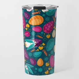 Busy Easter Bunnies Travel Mug