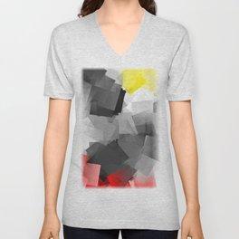 Digi-Cubistic Unisex V-Neck