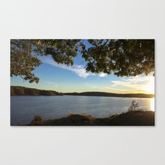 Boothbay Sunset - Main Coast Canvas Print