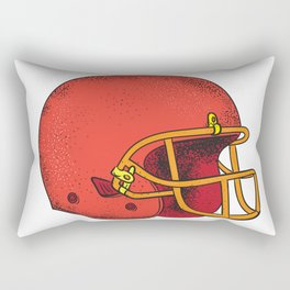 American Football Helmet  Tattoo Rectangular Pillow