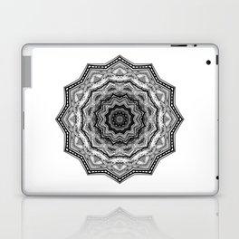 Black & White Stylish Mandala Laptop & iPad Skin