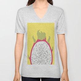 Pitaya watercolor Unisex V-Neck