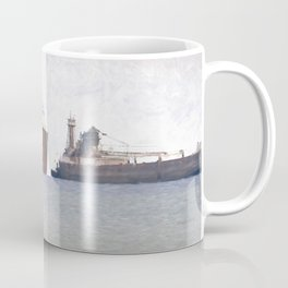 Great Lakes Freighters Coffee Mug
