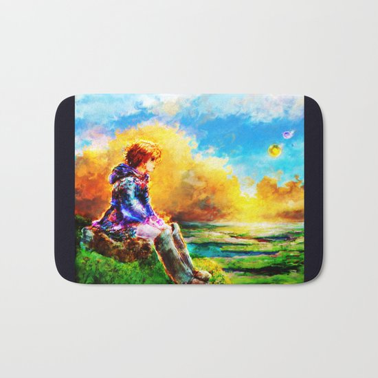 Nausicaa of the Valley of the Wind Bath Mat