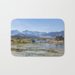 Mono Lake Tufa, No. 5 Bath Mat