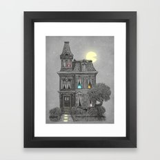 Haunted by the 80's Framed Art Print
