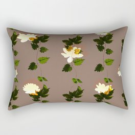 Flower String Rectangular Pillow