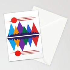 Moon Over The Mountains #7 Stationery Cards