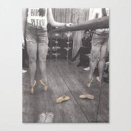 Point Shoes Canvas Print