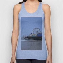 Santa Monica Pier Unisex Tank Top