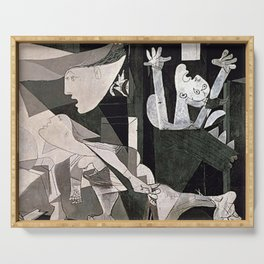 GUERNICA #2 - PABLO PICASSO Serving Tray