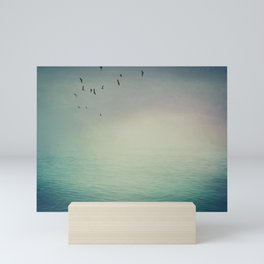 Emptiness In Between Mini Art Print