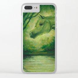 OasisMaker Clear iPhone Case