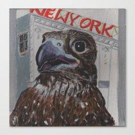 Falcon of New York Canvas Print