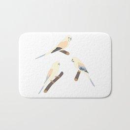 Cute Birds Bath Mat
