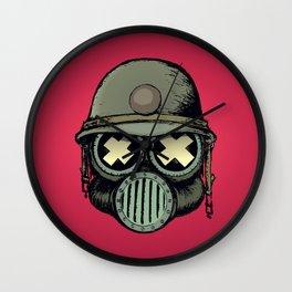War Skull v2 Wall Clock