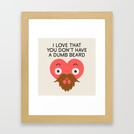 Groomed For Love Framed Art Print