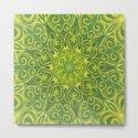 green center swirl mandala by swirls