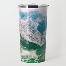 View of the majestic Madeira mountains Travel Mug