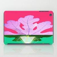 half life iPad Cases featuring Fig Leaf Diamond Christmas Half and Half  by ANoelleJay