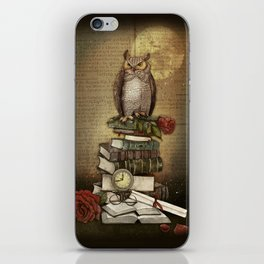 The Bibliophile - (the lover of books) iPhone Skin