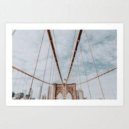 New York City VII / Brooklyn Bridge Art Print