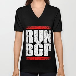 Run BGP Programming T-Shirt Programmer  Tee Unisex V-Neck
