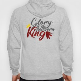 Glory To The Newborn King Hark Herald Angels Hoody