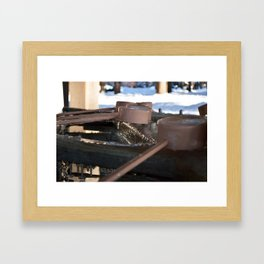 Purification by Ice Framed Art Print