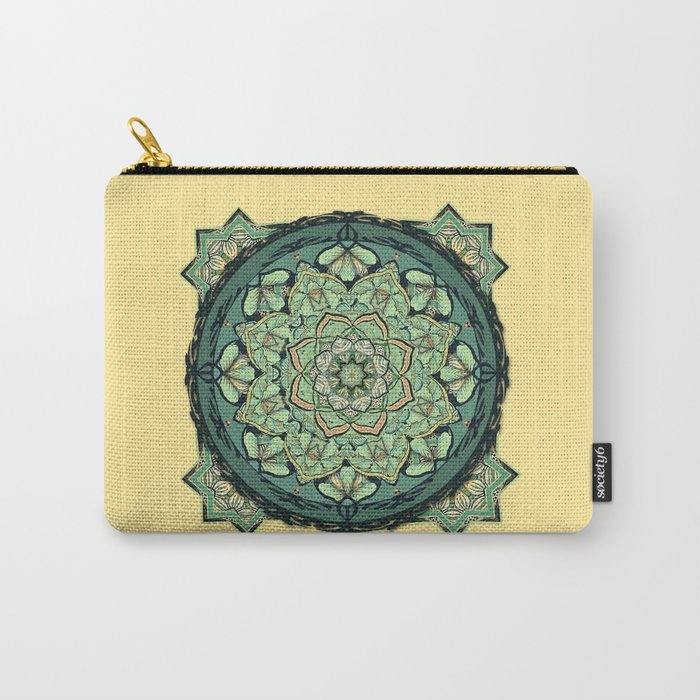 Morris Mandala Carry-All Pouch