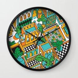 Marrakesh Wall Clock