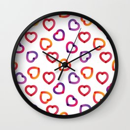 Digital Sweet Love #2 Wall Clock