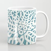 viking Mugs featuring Viking by Truly Juel