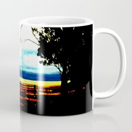 Storm clouds over wheat Fields Coffee Mug